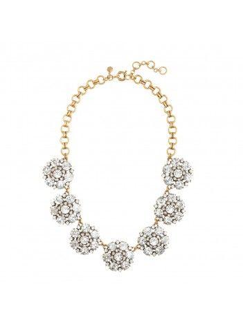 J Crew Circular Petals Necklace $69