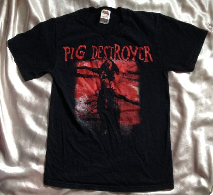 Pig Destroyer Band T Shirt // Band // Grindcore // Small  #GraphicTee