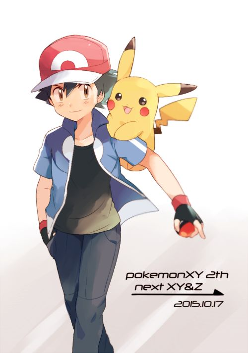 Ash Ketchum and his Pikachu ^.^ ♡