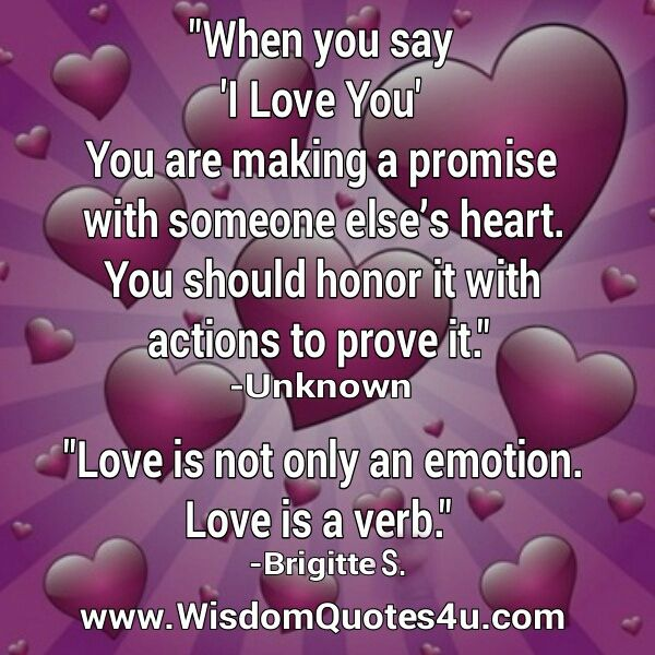 Love The Most Commonly Misused Emotional Word Its All About Giving And Not
