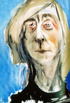 Tove Jansson – Self-portrait  (1975) at Ateneum museum, Helsinki