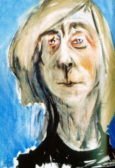 Tove Jansson – Self-portrait  (1975) at Ateneum museum, Helsinki