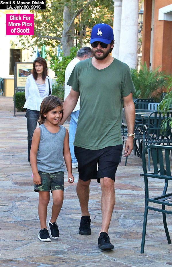 Scott & Mason Disick Have Cute Father-Son Day Together — Pics