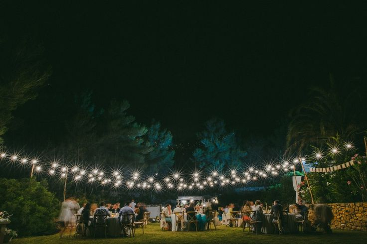 Rustic Outdoor Wedding in a Villa in Ibiza // Destination wedding