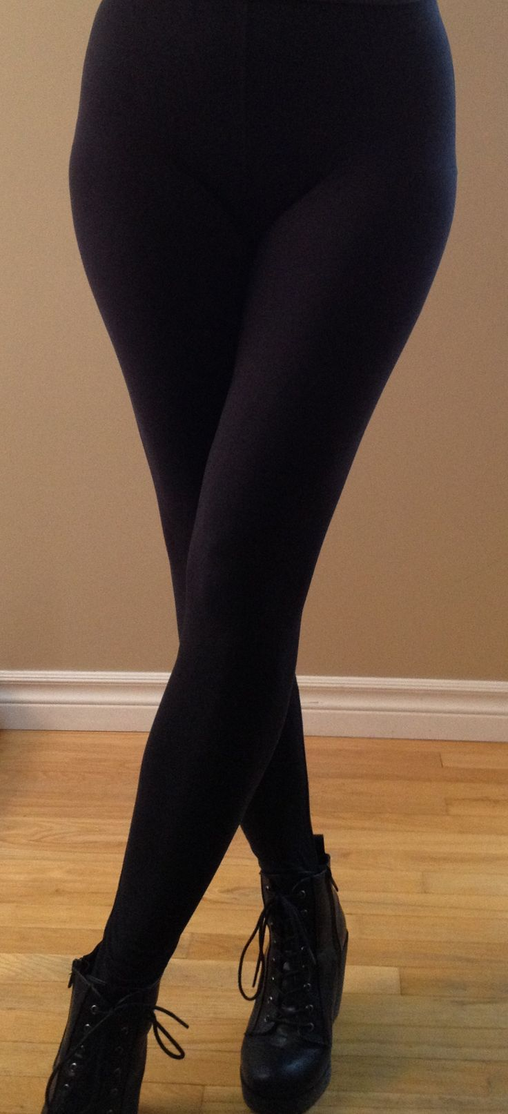"""""""Classic Black"""" leggings....classic, simple, and oh so soft....  """"One Size"""" fits most sizes 2-12, 5ft 1 – 6ft tall."""