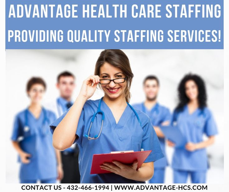 Advantage health care staffing is the leader among