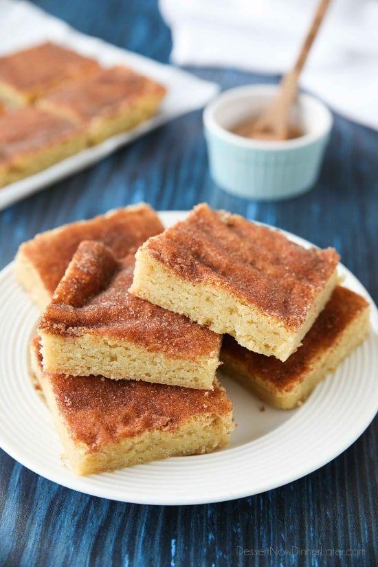 Snickerdoodle Bars – Dessert jetzt, Abendessen später!