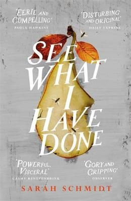 See What I Have Done by Sarah Schmidt.  When her father and step-mother are found brutally murdered on a summer morning in 1892, Lizzie Borden - thirty two years old and still living at home - immediately becomes a suspect. But after a notorious trial, she is found innocent, and no one is ever convicted of the crime.