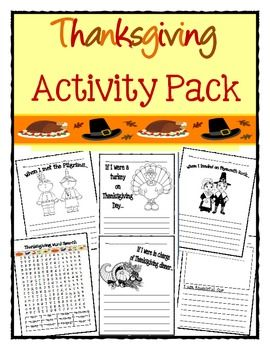 great thanksgiving writing activities for kids!  even if your kids don't do these in school, it would be great to have them write a little something before thanksgiving dinner and share with everyone :) you can save them and do them each year and see how they change
