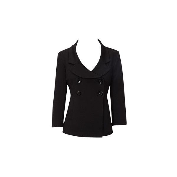 Oasis Jackets| Black Ponte Jacket | Womens Fashion Clothing | Oasis... ($107) ❤ liked on Polyvore featuring outerwear, jackets, coats, ponte knit jacket and ponte jacket