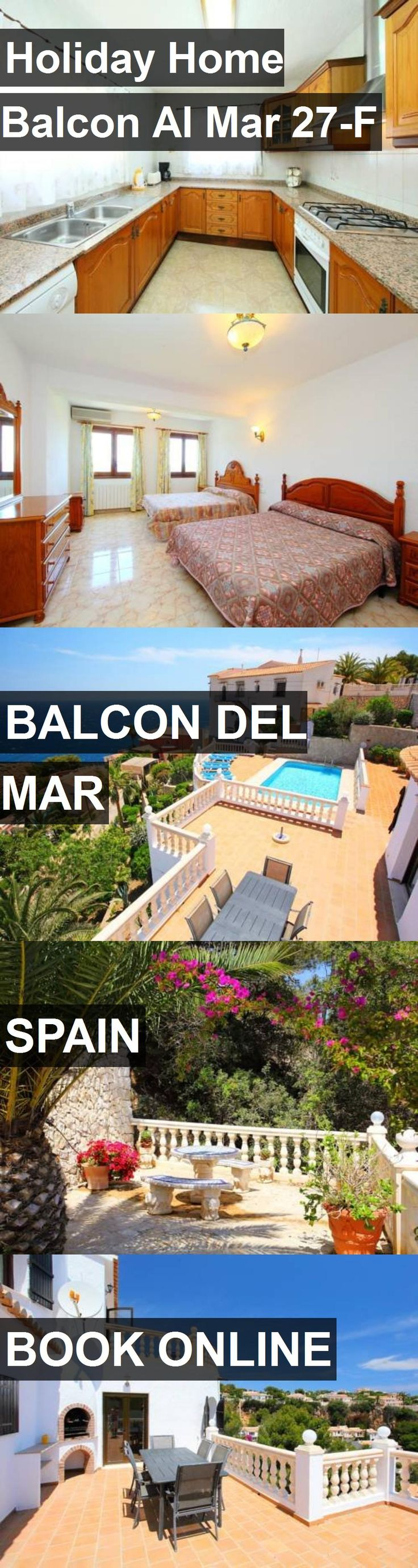 Hotel Holiday Home Balcon Al Mar 27-F in Balcon del Mar, Spain. For more information, photos, reviews and best prices please follow the link. #Spain #BalcondelMar #HolidayHomeBalconAlMar27-F #hotel #travel #vacation