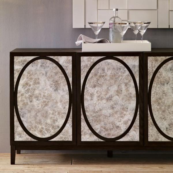 Adding Shine With Mirrored Furniture