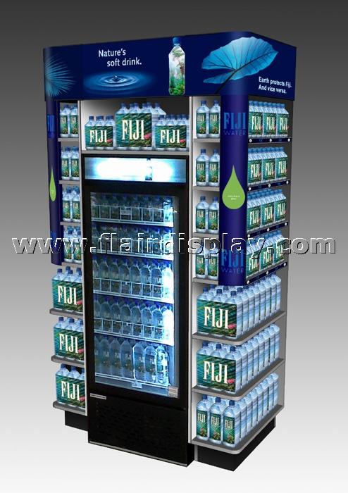 Cooler Wrap End Cap Display | Display design, Pop display ...