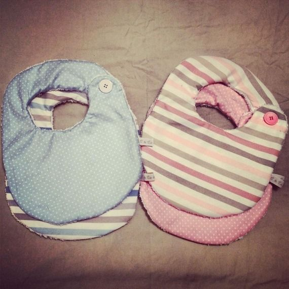Bavaglini Bavaglino Bambino, bébé in tessuto e spugna