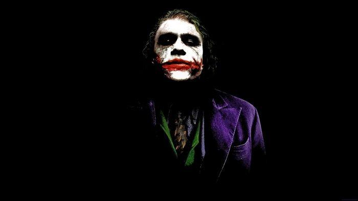 The Dark Knight Black Background Dc Comics Batman Joker Black Heath Ledger Simp Joker Wallpapers Joker Hd Wallpaper Heath Ledger Joker Wallpaper
