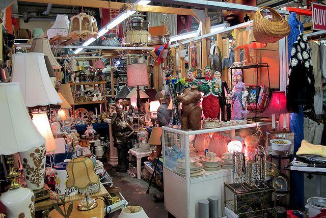 Bonnes adresses de marchés aux puces - Montréal, Québec, Maine