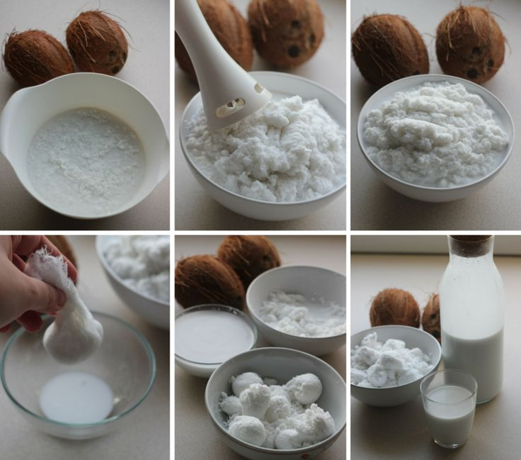 Mleko kokosowe + mąka kokosowa