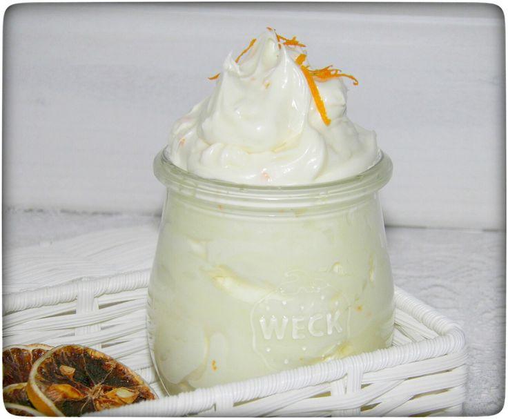 Orangen – Shea-Sahne für trockene Haut