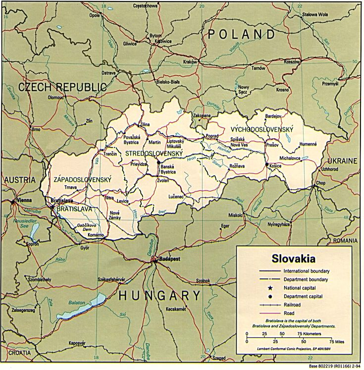Slovakia. My grandfather came to the U.S. from here as a young man