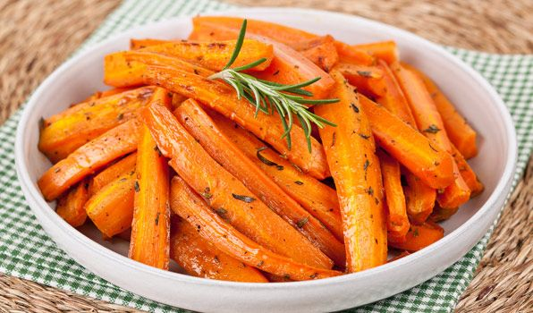 Brown Sugar Roasted Carrots - In the Kitchen with Stefano Faita