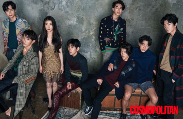 'Cosmopolitan' drops more classy cuts of the star-studded 'Scarlet Heart: Ryeo' cast | allkpop.com