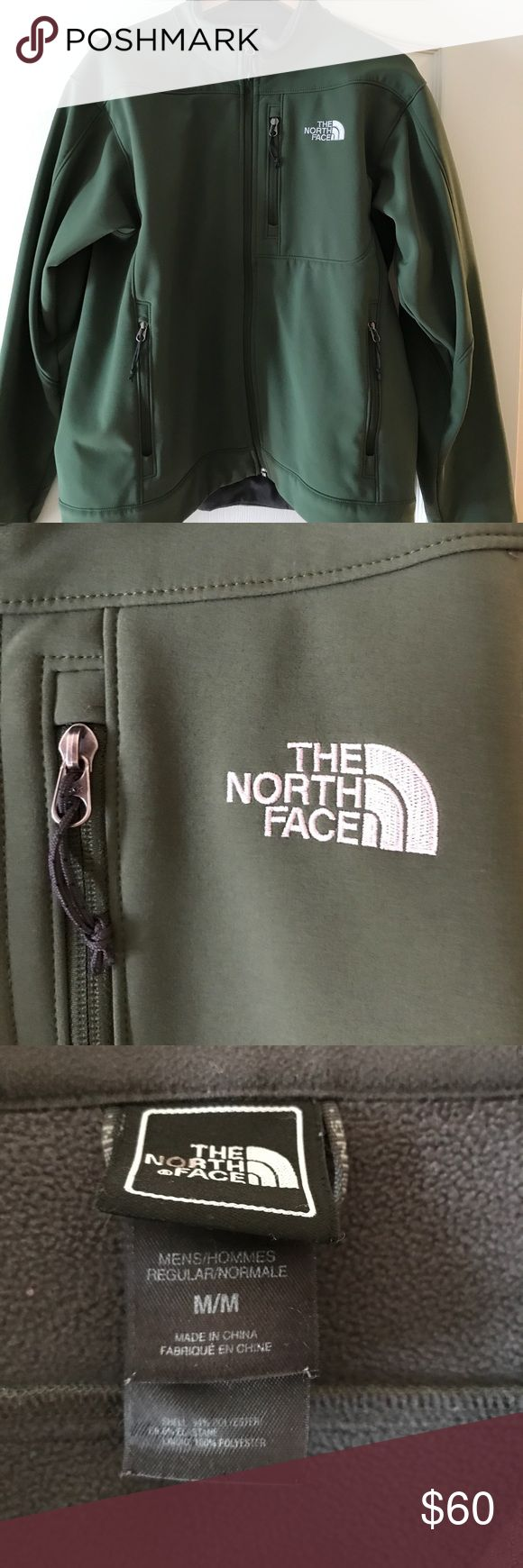 The North Face men's jacket The North Face men's fleece lined jacket. Only worn a few times. The North Face Jackets & Coats Performance Jackets