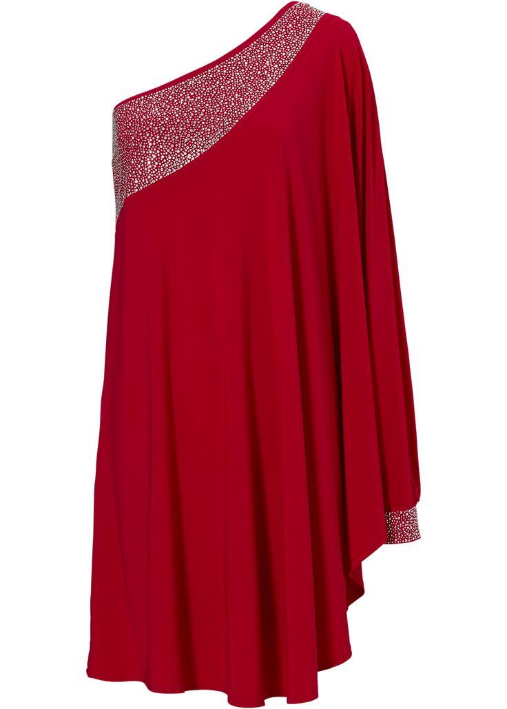 Kleid magenta - BODYFLIRT boutique jetzt online bei bonprix.at ab ? 39,99 bestellen. Auffallen garantiert! Asymetrisches Kleid mit einem langen Ärmel, ...