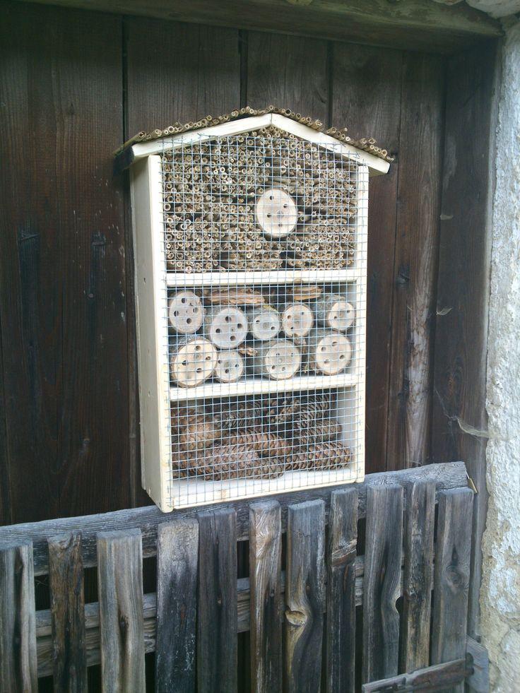 insektenhotel in eigenregie bauanleitung zum selber bauen hoizbastla s projekte. Black Bedroom Furniture Sets. Home Design Ideas