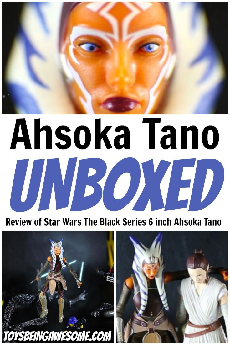 Unboxing of the Star Wars The Black Series 6 inch Ahsoka Tano. She's incredible. The look of her is fantastic with exceptional detail. Her articulation is great and she comes with awesome accessories. #StarWars #TheBlackSeries #AhsokaTano #StarWarsTheBlackSeries #TheBlackSeries6Inch #StarWarsActionFigures #Hasbro #StarWarsToys #StarWarsToyCrew #StarWarsToyFigs #ToyCommunity #ActionFigures #Lightsaber