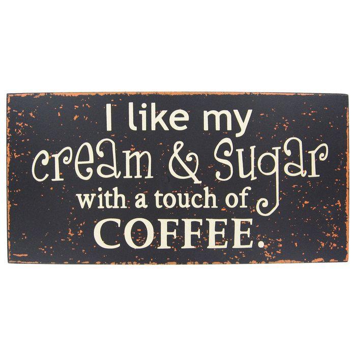Coffee Wall Sign   Hobby Lobby