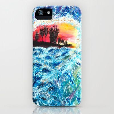 Wave iPhone & iPod Case by Katrina Berkenbosch  - $35.00