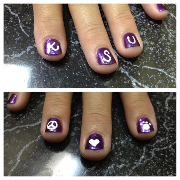 Top Nails Game Online Nail Studio Game Online: 21 Best Kansas State Wildcats Game Day Glam Images On