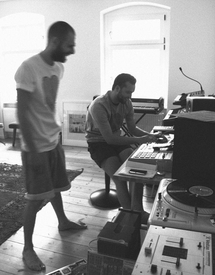 Max Graef & Glenn Astro in their Berlin studio