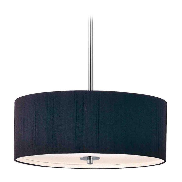 design classics lighting modern hanging globe. contemporary pendant light with black drum shade in chrome finish design classics lighting modern hanging globe h