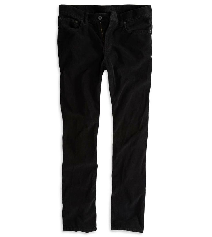 AE Slim Straight Corduroy Pant for $12 with promo code  & free shipping.