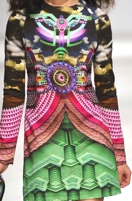 PRINTS, PATTERNS AND SURFACE EFFECTS FROM PARIS FASHION WEEK  Details from womenswear collections fall/winter 2013/14.  Manish Arora