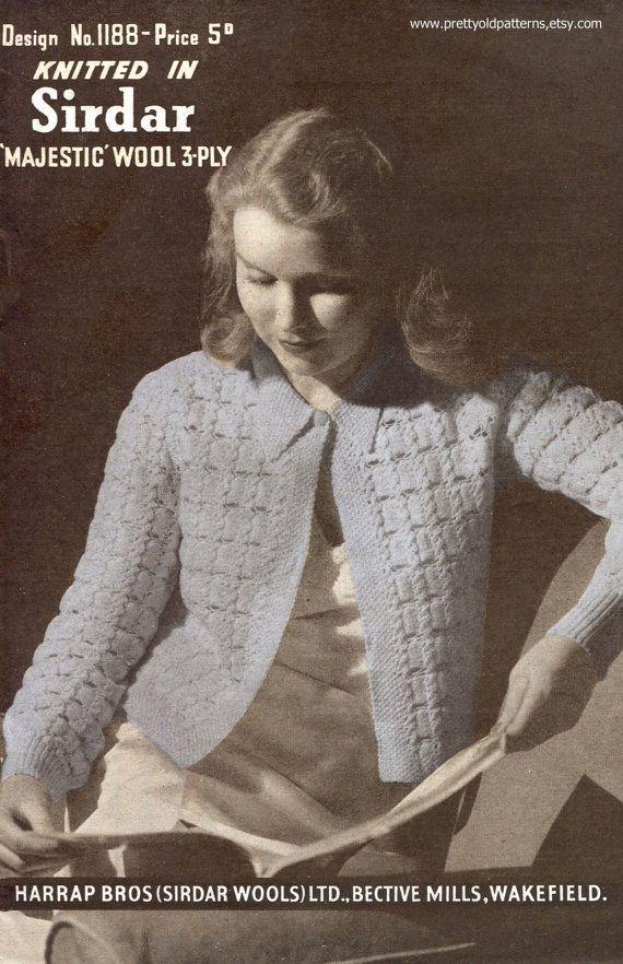 Fantastic 1940s Knitting Patterns Frieze Decke Stricken Muster