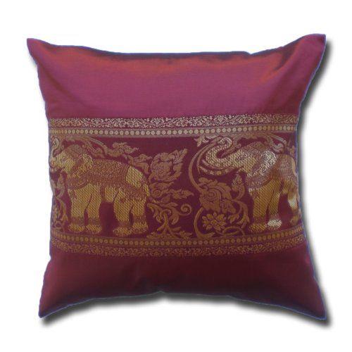 Elephant Floral Vines Wine Red Cushion Cover Pillow Case/... https://www.amazon.co.uk/dp/B01BJD2QD0/ref=cm_sw_r_pi_dp_U_x_YFHsAb4G7DF6T