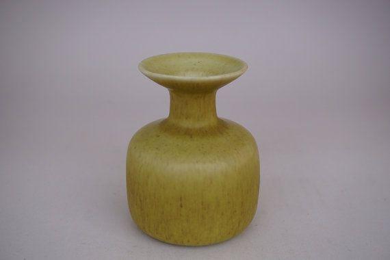 Rorstrand Gunnar Nylund hare's fur glaze vase by ScandicDiscovery