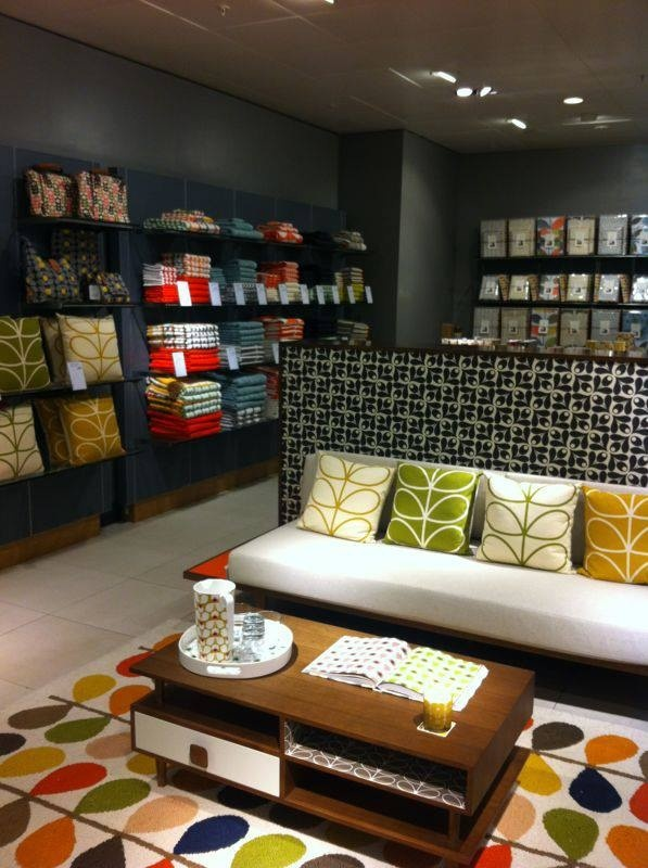 Orla Kiely cushions all available at Geoffrey Drayton in Epping, Essex