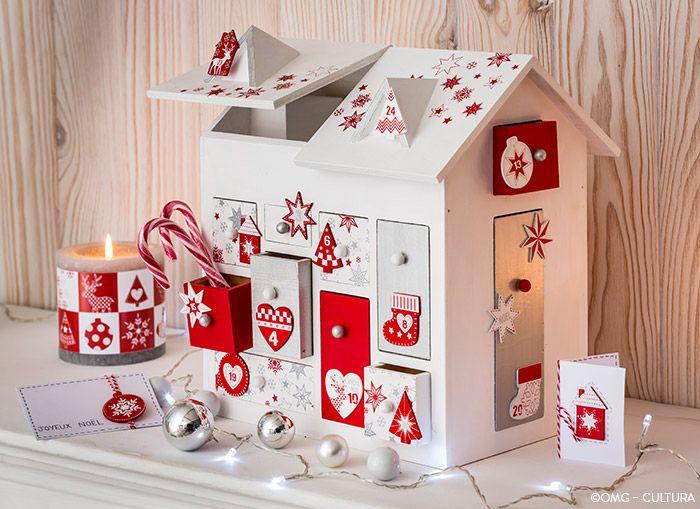 Noël Scandi - Maison surprise de l'Avent - Beaux Arts Noël Scandi - Cultura