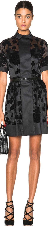 Carven Collared Mini Dress | LOLO     ᘡղbᘠ