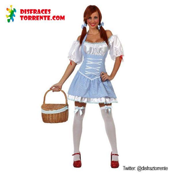 Disfraz de Dorothy  El cuento del Mago de Oz pero en versión sexy.