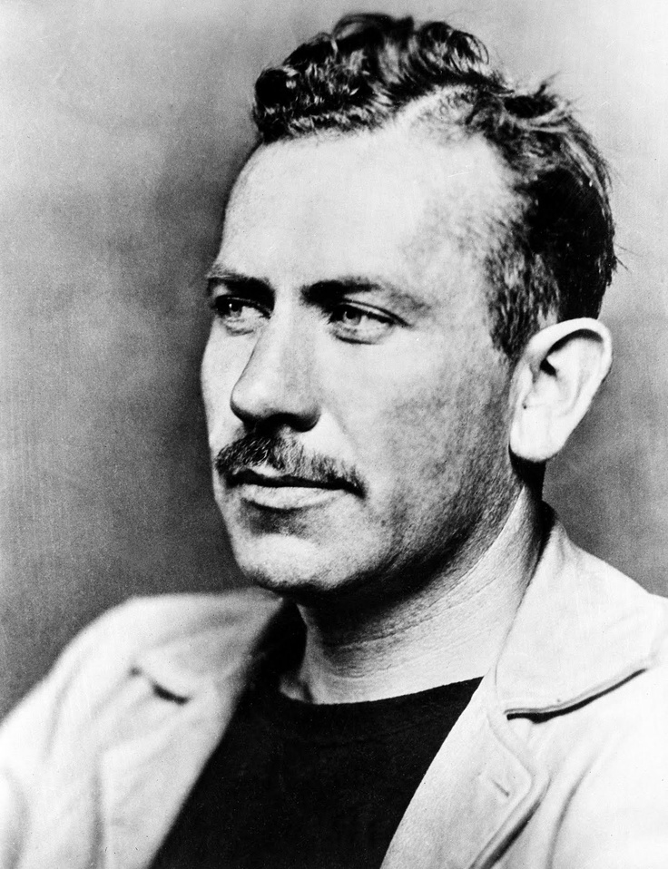 """John Steinbeck's novels of sweeping Americana include The grapes of wrath, Cannery row and East of Eden. Image """"John Steinbeck"""" pinned from Hub Pages @ http://bit.ly/1cMisXh"""