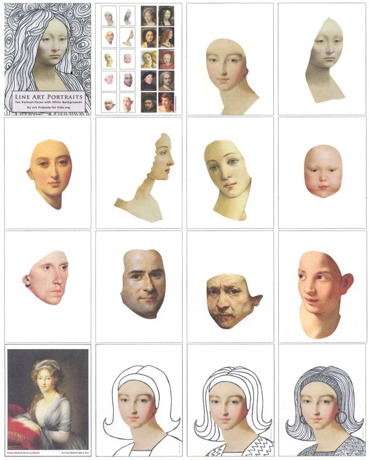Line Art Portrait eBook
