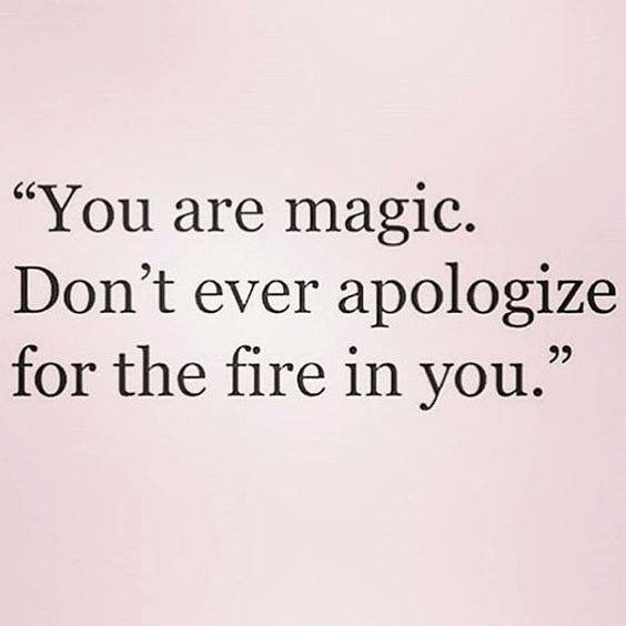 Be yourself, cree en ti.