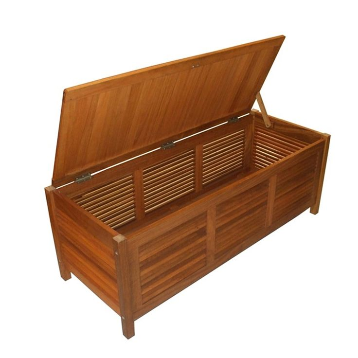 Mimosa Timber Outdoor Storage Box I N 3190580 Bunnings