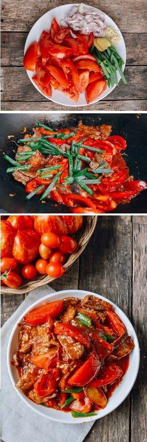 Beef Tomato Stir Fry recipe by the Woks of Life