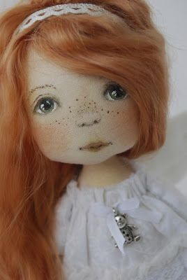 ~ PAINTING FRECKLED DOLL…
