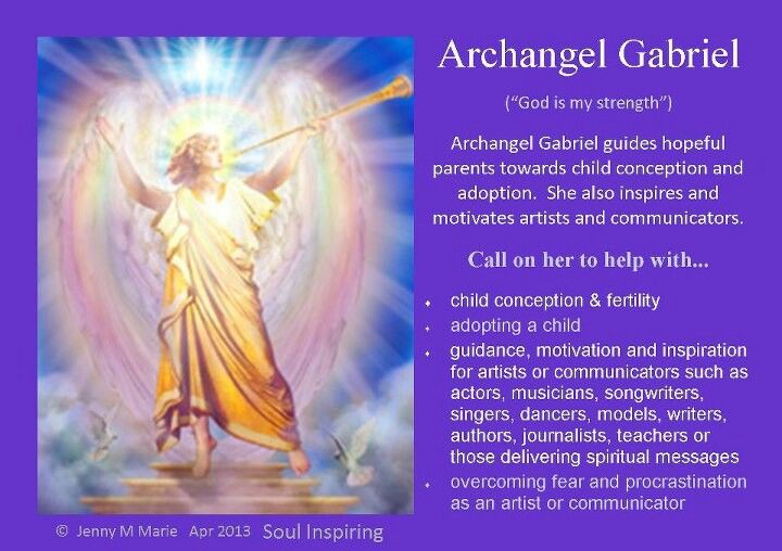 ‿✿⁀Archangels‿✿⁀ ~~Archangel Gabriel
